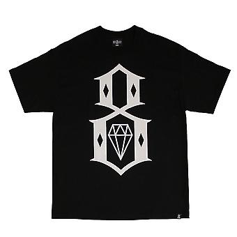 Rebel8 Standard Issue Logo T-shirt Black