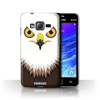 STUFF4 Tilfelle/Cover for Samsung Z1/Z130/Hawk/Eagle/dyr ansikter