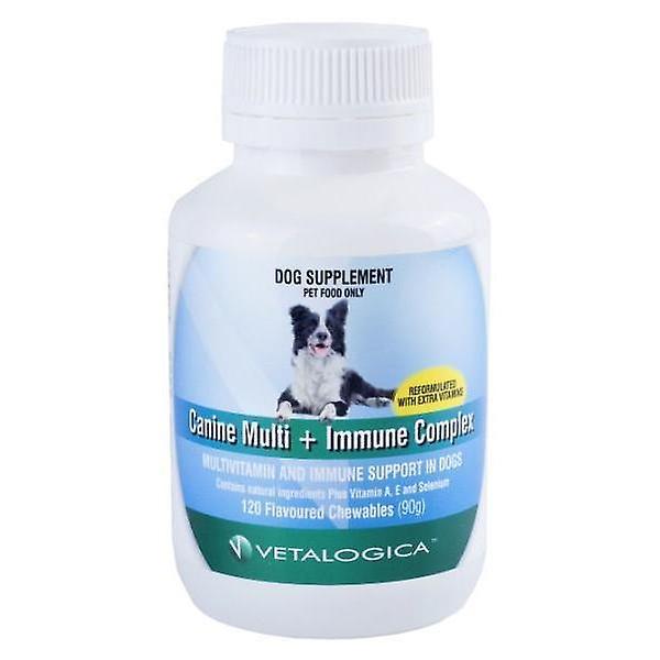 Canine Multi and Immune Complex 120 chew
