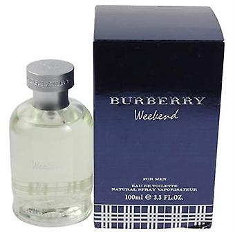 Burberry Weekend af Burberry for mænd 3,3 oz Eau De Toilette Spray