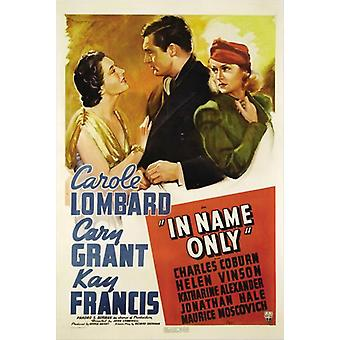 In Name Only Movie Poster (11 x 17)