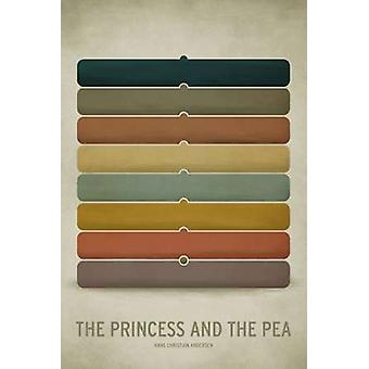 Princess Pea Poster Print by Christian Jackson