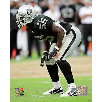 Rolando McClain 2010 Action Photo Print