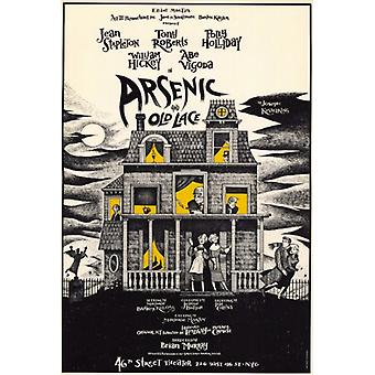 Arsenic and Old Lace (Broadway) Movie Poster Print (27 x 40)