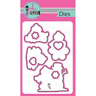 Pink And Main Dies-Frosty Friends, 8/Pkg PNM050