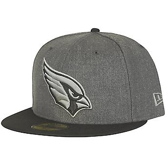 New era 59Fifty Fitted Cap - HEATHER Arizona Cardinals grey