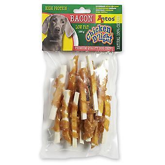 Antos kylling D'light Bacon 100g (pakke med 10)