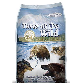 Smag af vilde hund Pacific Stream røget laks 13kg
