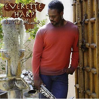 Everette Harp - importación de Estados Unidos en el momento [CD]