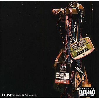 Len - dagbog af galninge [CD] USA importen
