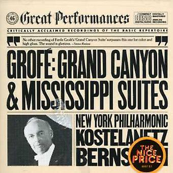 F. Grofe - Grof: Grand Canyon Suite; Mississippi Suite [DVD] USA import