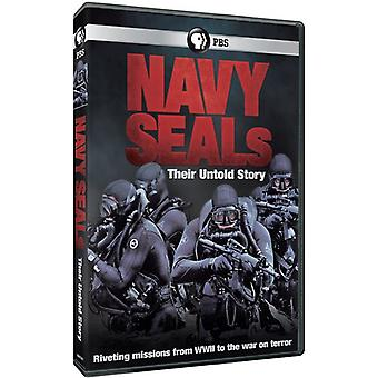 Navy Seals: Loro Untold Story [DVD] USA importare
