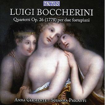 L. Boccherini - Luigi Boccherini: Quartetti Op. 26 (1778) Per Due Fortepiani [CD] USA importerer