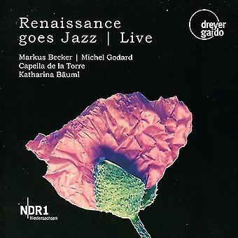 Godard/Caroso/Monteverdi/Henry VIII - renæssance går Jazz: Live [CD] USA import