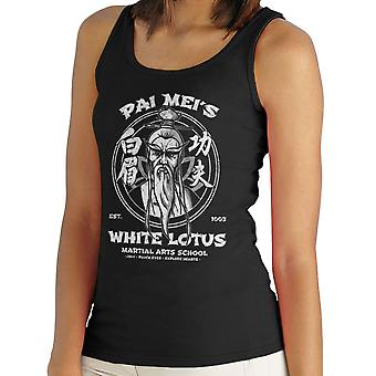 Pai Meis White Lotus Kill Bill Kvinders Vest