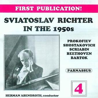 Sviatoslav Richter - Sviatoslav Richter i 1950 ' erne, Vol. 4 [CD] USA importerer