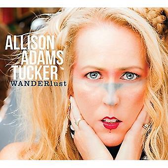 Allison Tucker Adams - Wanderlust [CD] USA importerer