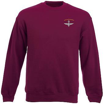 Parachute Regiment PARA Wings Embroidered Logo - Official Heavyweight Sweatshirt