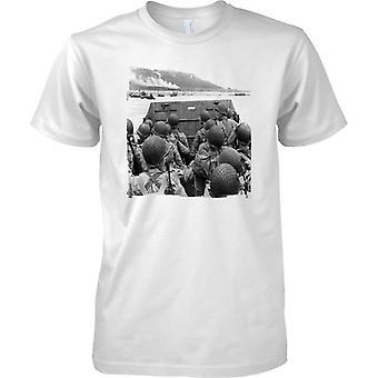 Assualt USA na plaży Omaha - WW2 Design - dzieci T Shirt