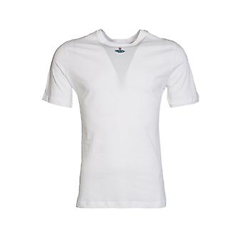 Vivienne Westwood Vivienne Westwood Classic Round Neck Tee In White S25GC0269S22492-100