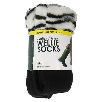 Ladies RJM Fleece Wellie sokker stil - SK206
