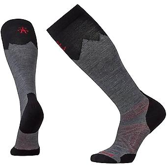 Smartwool PhD® Mountaineer Sock - Medium Gray