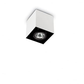 Ideal Lux Mood Pl1 Small Square Bianco
