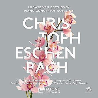 Beethoven / Orquesta Sinfónica de Boston / Eschenbach - conciertos para Piano Nº 3 y 5 [SACD] USA importación