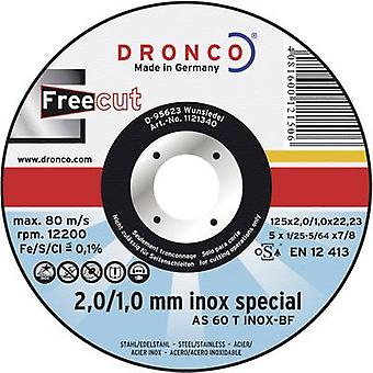 FreeCut AS 60 T stainless steel cut-off wheel Dronco AS60T INOX Diameter 115 mm