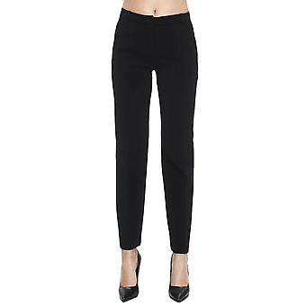Pinko women's 1G12W16509Z99 black polyester pants