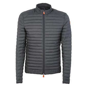 Save the duck men's D3643MDULL600070 grey polyamide Quilted Jacket