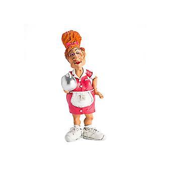Waitress Figurine