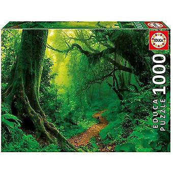 Educa Puzzle of 1000 pieces of Enchanted forest 68 x 48 cm