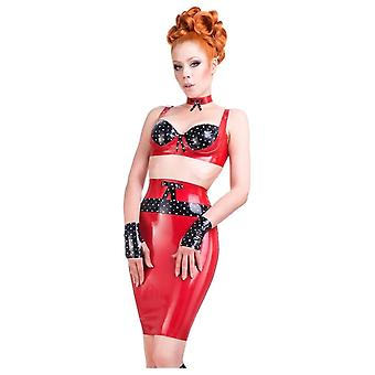 Westward Bound Obsessive Love Latex Rubber Skirt