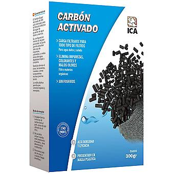Ica Carbon Activated Ica 300 Gr (Fish , Filters & Water Pumps , Filter Sponge/Foam)