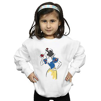 Disney Princess Girls Snow White Apple Glitter Sweatshirt