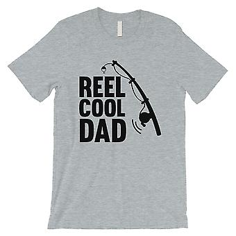 Reel Cool Dad Mens Grey Shirt