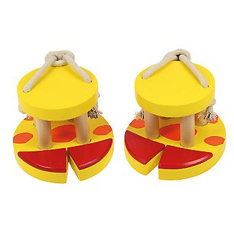 Bigjigs Toys Wooden Giraffe Footwalkers Walker Stilts