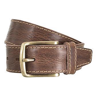 Cintura di cintura cinture uomo LLOYD maschile Cinture in pelle marrone 4761
