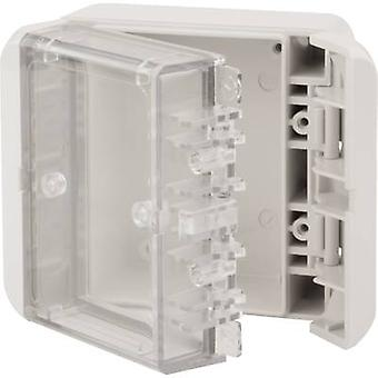 Bopla Bocube B 080805 PC-V0-G-7035 Wall-mount enclosure, Build-in casing 80 x 89 x 47 Polycarbonate (PC) Light grey (RAL 7035) 1 pc(s)