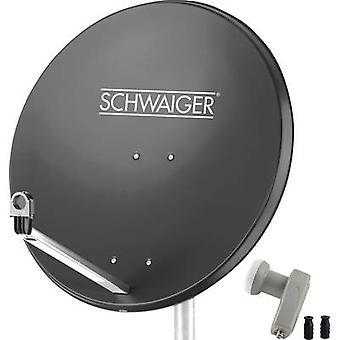 Schwaiger SPI9961SET2 SAT system w/o receiver Number of participants 2 80 cm