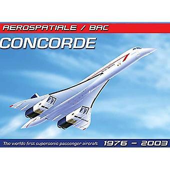 Concorde store Metal signere 400 X 300 Mm