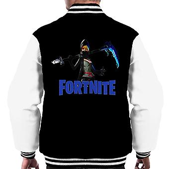 Varsity Jacket Fortnite Assassin classe héros faux peau masculine