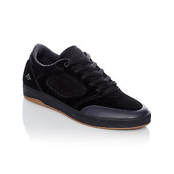 Emerica Black-Black Dissent Shoe