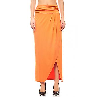B.C.. best connections Maxi skirt wrap optic Orange