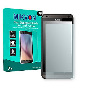 HTC Desire 700 Dual SIM Screen Protector - Mikvon Clear (Retail Package with accessories)