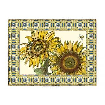 Classical Sunflower II Poster Print by Vision Studio (19 x 13)