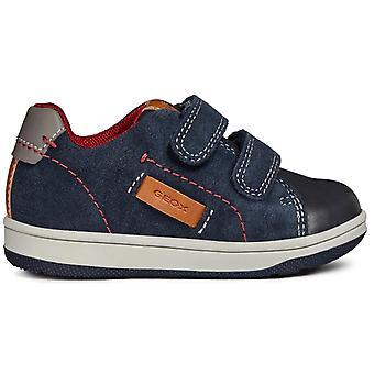 Geox Boys Flick B841LA Shoes Navy Blue