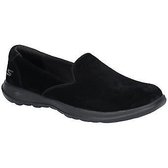 Skechers Womens GoWalk Lite Glam Slip On Comfort Shoes