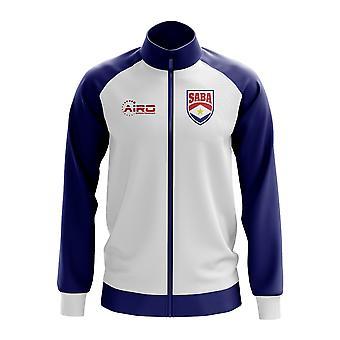 Saba Concept Football Track Jacket (White)